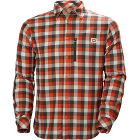 Helly Hansen Lokka LS Shirt Men cherry tomato plaid